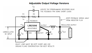 replacing the potentiometer on lm2596s with a digital pot