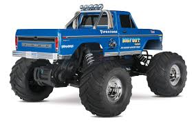 bigfoot monster truck games amazon com traxxas 36034 1 bigfoot no 1 2wd 1 10 scale monster
