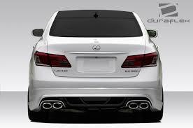 lexus visa platinum 07 12 lexus es am s duraflex rear body kit bumper 108954