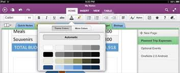 onenote app for android microsoft onenote for ios and android updated with new features