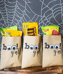 custom print halloween treat bags in my own style