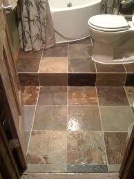 slate tile bathroom designs bathroom step up slate tile jacuzzi tub bathroom ideas