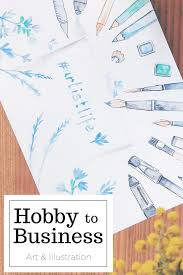 Design Business From Home Work At Home Artist From Hobby To Art To Freelancing