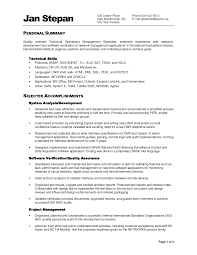 Resume Canada Sample by Pleasing Sample Resume Functional Summary For Chrono Functional
