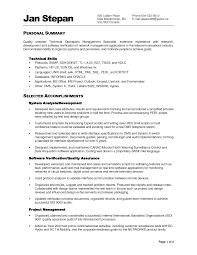 Sample Functional Resume by Impressive Sample Resume Functional Summary For Professional