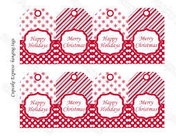 cupcake express free printable peppermint christmas tags