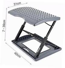 hometown market heavy duty adjustable footrest for home office or