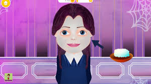 care kids games spooky makeover hair salon fun baby