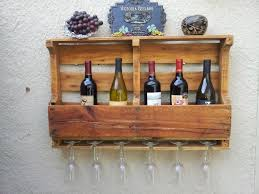 recycled pallet board wine rack aftcra