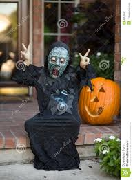 Boys Scary Halloween Costumes Boy Scary Halloween Costume Stock Photo Image 43678941