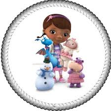 doc mcstuffin cake toppers one 8 doc mcstuffins edible image cake topper