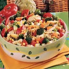 pasta salad recipes cold rainbow pasta salad recipe taste of home