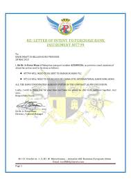 Letter Of Intent Business Purchase by Bd50b Euro Letter