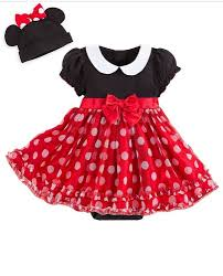 Disney Store Halloween Costumes Disney Store Minnie Mouse Baby Costume U0026 Hat Ears Bow Red