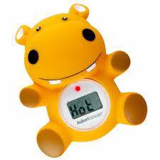thermometre bain et chambre thermomètre de bain hippo orange de aubert concept thermomètres