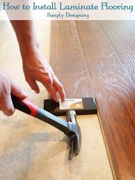 White Laminate Wood Flooring How To Install Floating Laminate Wood Flooring Part 2 The
