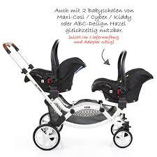abc design zwillingskinderwagen abc design geschwisterwagen zwillingskinderwagen zoom piano