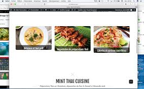 cuisine a composer mint cuisine e commerce food cuisine 3rax team kit