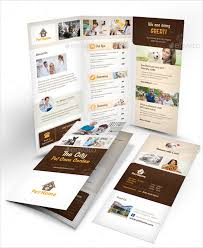 tri fold brochure ai template 14 daycare brochure templates free psd eps illustrator ai