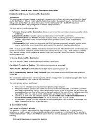 health and safety exam study guide occupational safety and