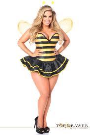Corset Halloween Costume Bumble Bee Kitty Cat Ladybug Costumes