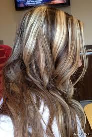 chocolate hair with platinum highlight pictures chocolate hair color with blonde highlights in 2016 amazing photo