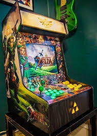 build your own arcade cabinet zelda fan builds a custom ocarina of time arcade cabinet nintendotoday