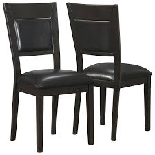 espresso dining chairs shaker dining chairs set of 4 espresso