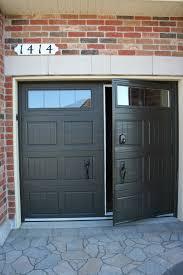 Single Car Garage Single Car Garage Door With Built In Man Door Tags 40 Unusual