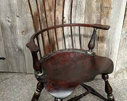 High Back Armchair Windsor Back Chairs Etsy