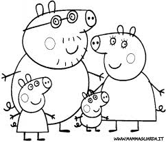 peppa pig 106 cartoons u2013 printable coloring pages