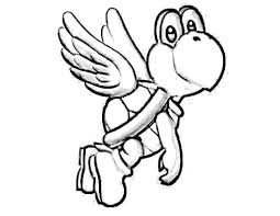 koopa troopa coloring pages coloring for kids 4075