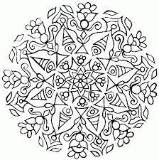 we have gathered our favourite mandalas and abstract colouring for