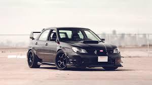 subaru wrx all black subaru wrx tuning con wallpaper impreza sti black car side hd
