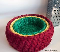 Crochet Home Decor Patterns Free Crochet Home Organization Patterns With Lion Brand Yarn All Free