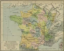Champagne France Map by