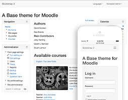 moodle theme api moodle plugins directory bootstrap