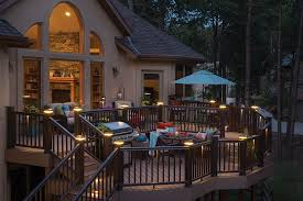 trex post cap lights decklites patio supply outdoor living