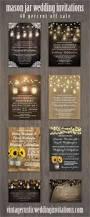 Mason Jar Wedding Programs Best 25 Mason Jar Wedding Invitations Ideas On Pinterest Rustic
