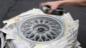 how to paint your wheels for automobiles e30 bmw youtube