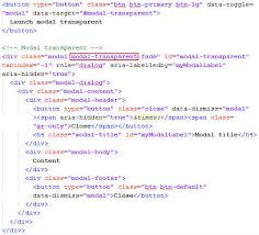 rumus membuat latar belakang cara membuat background modal bootstrap transparan
