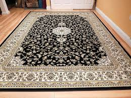 thin area rugs amazon com black 8x11 persian rug oriental rugs 8x10 area rug