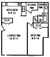 1 bedroom apartment square footage 1 bedroom apartment typical floor plan quail creek apartments 1