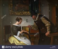 Wallace Collection by Harpsichord Lesson By Jan Steen Circa 1660 69 Wallace