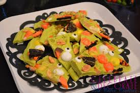 halloween candy dish halloween candy bark celebrate u0026 decorate