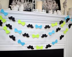 bow tie baby shower decorations bowtie baby shower garland it s a boy party decorations mustache