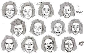 sketching faces by talastrogg on deviantart
