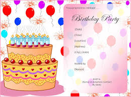 the most popular invitation cards for birthday party for kids 93