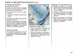 isofix siege avant mégane 2 et isofix mégane mégane rs renault forum marques