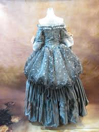 18th Century Halloween Costumes 17 18th Century Gray Floral Marie Antoinette Shoulder